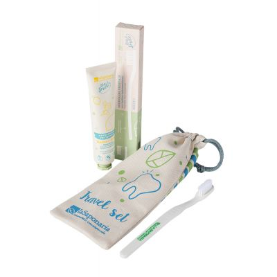 Bio&Smile Travel Set - spazzolino e dentifricio
